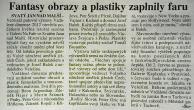 Galerie Na Faře, Svatý Jan nad Malší, Josef Pepíno Balek, VSU-JČ