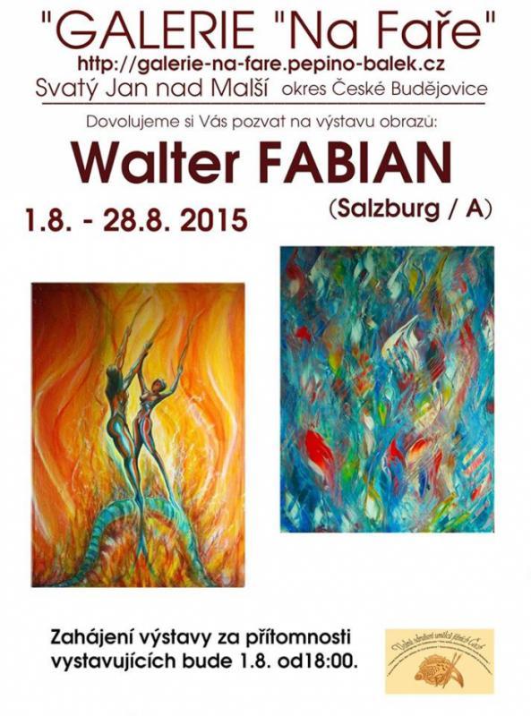Walter Fabian, Salzburg, Josef Pepino Balek, Galerie Na Faře