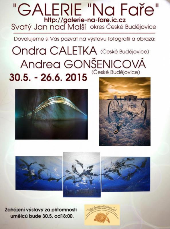 Galerie Na Faře - Caletka, Gonšenicová, Josef Pepíno Balek
